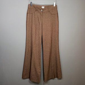 CACHE Wide Leg Flare Pants Tweed VTG Size 2 or M